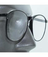 Big Lens Polished Smart Black Frame Reading Glasses +3.75 Lens Strength - $19.00