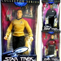 3 Star Trek 10 inch Action Figures Captains Kir... - $29.95