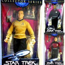 3 Star Trek 10 inch Action Figures Captains Kir... - $29.95