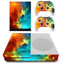 Xbox one S Slim Console Skin Vinyl Decals Stickers Galaxy Space Nebula Starry - $12.00