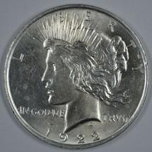 1922 P Peace silver dollar BU details - $65.00