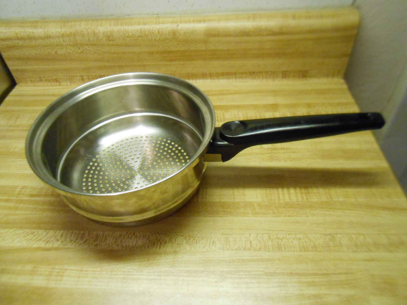 Primary image for stainless steel steamer insert pot 7 1/4 inch heavy duty pot very well made!
