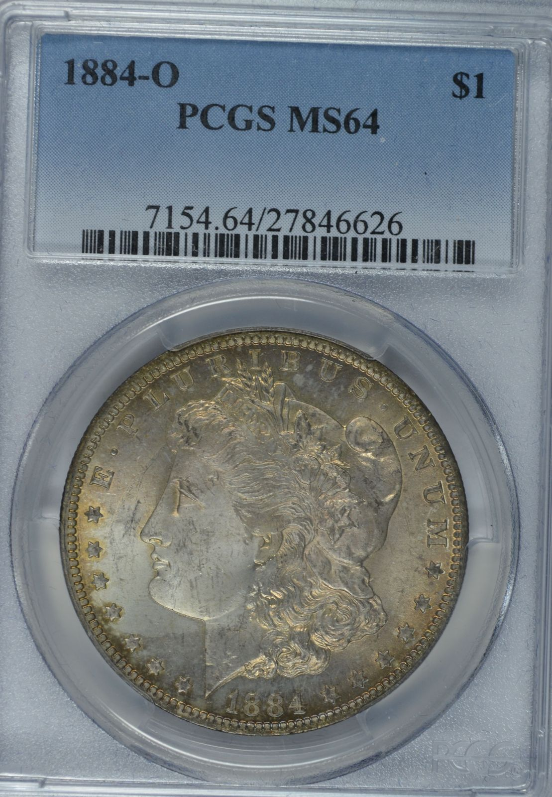 Primary image for 1884 O Morgan silver dollar PCGS MS64