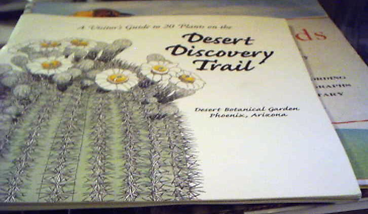 Primary image for Desert Discovery Trail Desert Botanical Garden Phoenix Arizona book on cacti