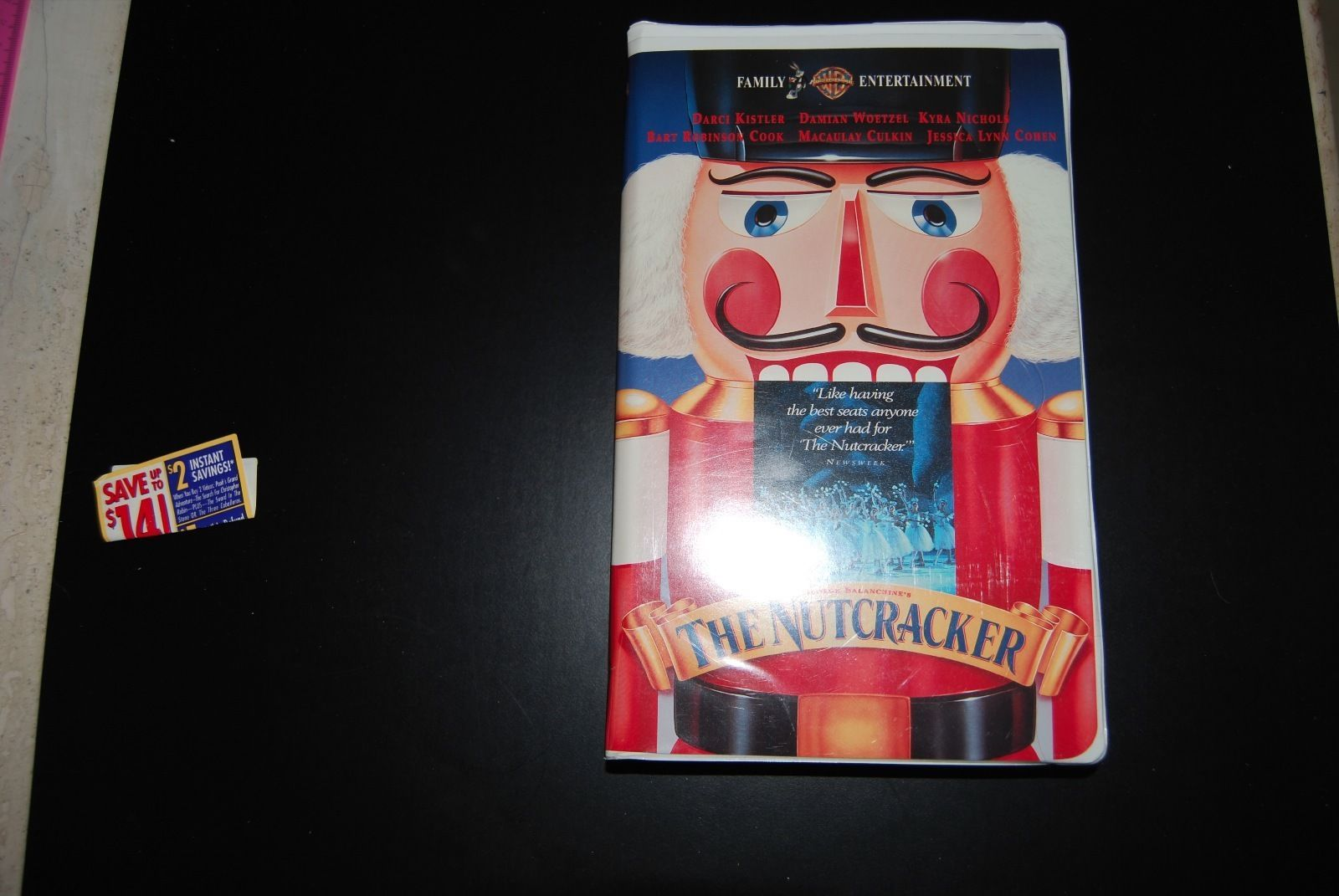 Primary image for The Nutcracker - George Balanchine (VHS, 1995, Clamshell)