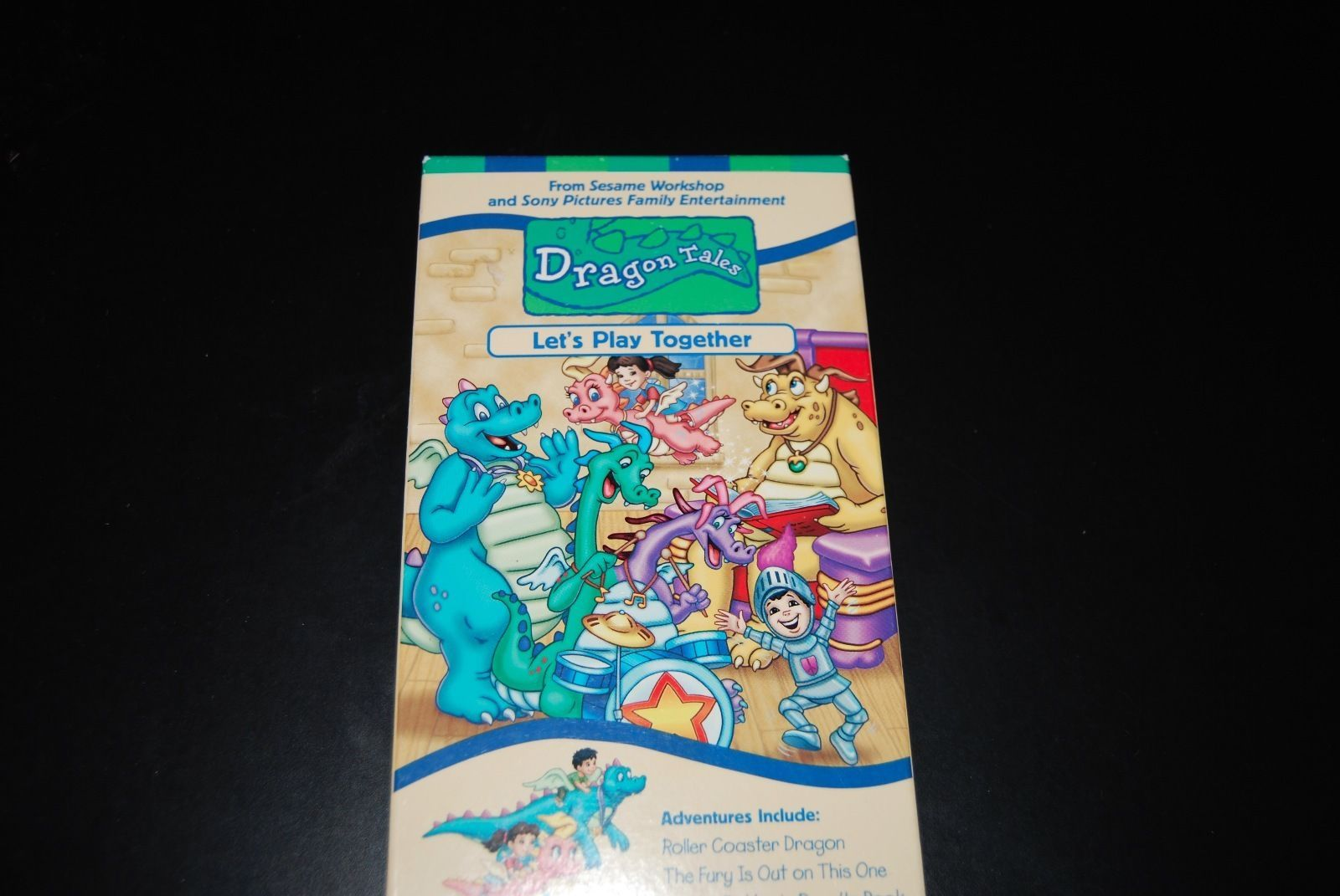 Primary image for Dragon Tales: #6 - Let's Play Together (VHS, 2001)