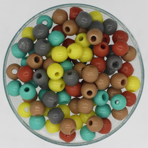 Czech Glass Desert Southwestern Shades 5mm Bead Earthy Color Multi Mix p... - $6.47
