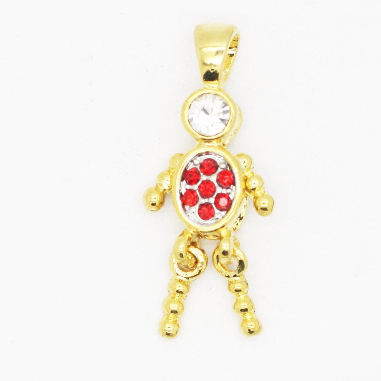 Primary image for Charm Birthstone ~ January Goldtone ~ Baby Child Grandchild