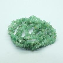 Aventurine Chips Semi Precious Stone Gem Beads - $9.00