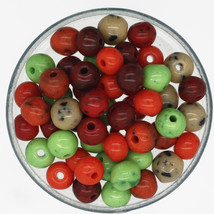 Czech Glass Mellow Speckle 4-5mm Petite Bead Mix Earthy Color Mix pack /100 - $6.47