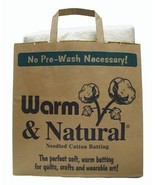 The Warm Company Warm & Natural Cotton Batting Full Size, - $27.53