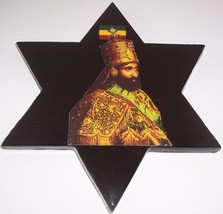 Star of David Coronation Plaque Haile Selassie I Ethiopia Orthodox Chris... - $80.84