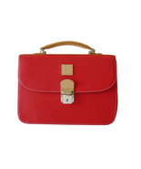 Authentic Dooney & Bourke Red AWL Carrier Shoul... - $60.00