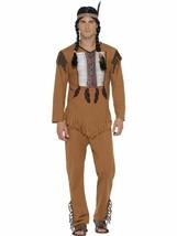 Indianer / Indian Krieger Kostüm, M, Kostüm Erwachsene, Herren - $26.62
