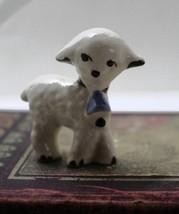 Vintage Miniature Little Lamb Figurine - $7.50