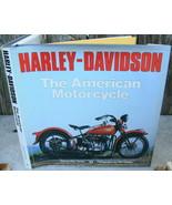 Harley-Davidson The American Motorcycle Girdler Hussey Coffee Table Book - $21.00
