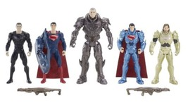 Superman Man of Steel EXCLUSIVE KRYPTONIAN INVASION 5-Pack NEW Great Gif... - $19.94