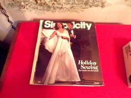 Vintage Simplicity 1975 Holiday Sewing Patterns Store Counter Large Cata... - $51.48