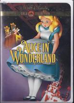 Walt Disney Gold Collection: Alice In Wonderland Dvd - $7.95