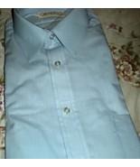 Men's 15.5 Blue Dress Shirt - Short Sleve  By  Gimbels Store for Men - $14.00
