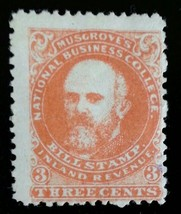 Musgrove's National Business College Three Cent... - $25.00