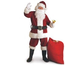 Christmas - Santa Claus Suit - Crimson Regal Plush - Size XXL - Deluxe R... - $60.34