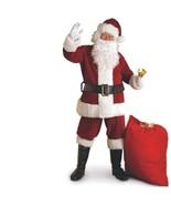 Christmas - Santa Claus Suit - Crimson Regal Plush - Size XXL - Deluxe R... - $60.34