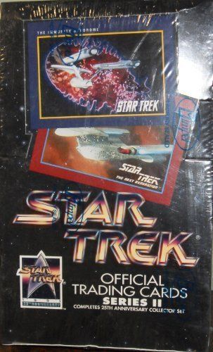 Primary image for Star Trek Official Trading Cards Series II 1991 Wax Box