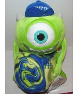Monster Incorporated University Mike Pillow & Throw Set Disney 40x50 Inc... - $19.99
