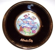 THE ART OF CHOKIN ATLANTIC CITY BLACK PLATE JAPAN - $36.24