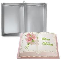 Wilton Two Mix Book Cake Pan Aluminum Birthday Baby Shower Graduation Ba... - ₨1,213.76 INR