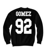 SELENA GOMEZ JERSEY SWEATSHIRT SELENA GOMEZ SHIRTS CELEBRITY SHIRTS - $29.70