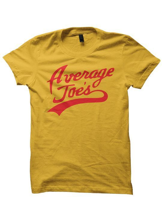 Primary image for AVERAGE JOES T-SHIRT DODGE BALL MOVIE FUNNY SHIRTS GREAT GIFTS CHRISTMAS GIFT