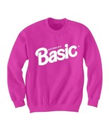 ANYTHING BUT BASIC SWEATSHIRT FUNNY SHIRTS CHRISTMAS GIFTS HOLIDAY DEALS LADIES - $24.75 - $29.70