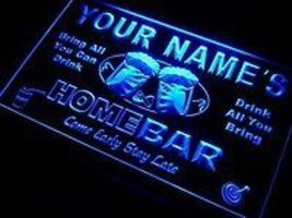 Personalized neon light sign with your name on top line  - $32.99