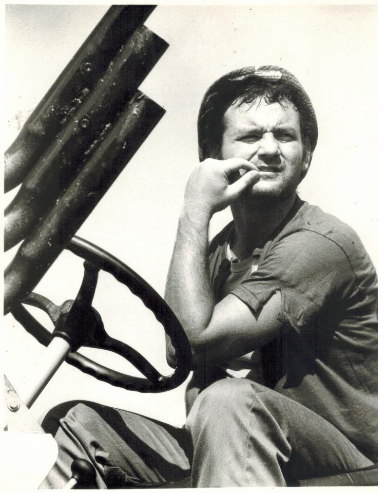 Primary image for Caddyshack Tractor Bill Murray 1 Vintage 8X10 BW Comedy Movie Memorabilia Photo