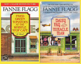 Fannie Flagg pair: Daisy Fay & Miracle Man + Fried Green Tomatoes @ Whis... - $8.60