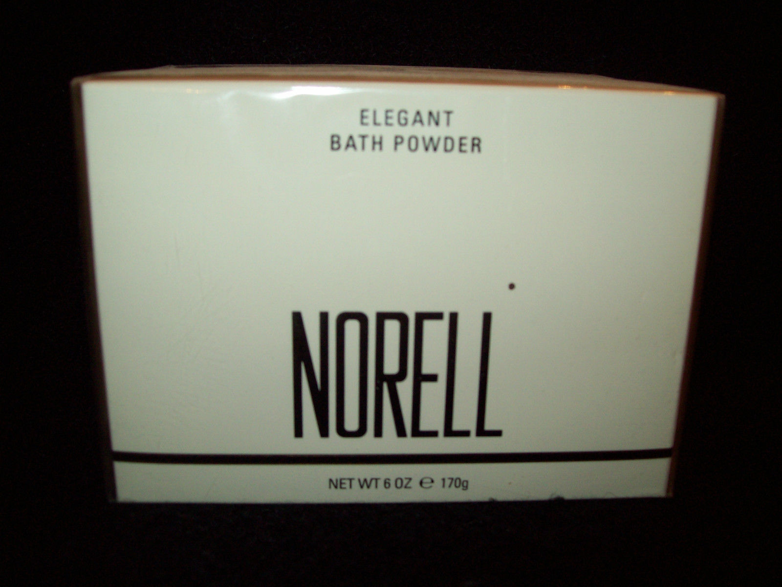 Primary image for NORELL ELEGANT BATH POWDER 6 OZ. Dusting Fragrance Body Talc Perfume SEALED NEW