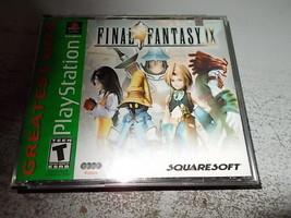 playstation final fantasy 1x   4 disk set - $9.90