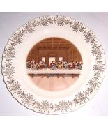 """THE LAST SUPPER"" FIRST EDITION 22K GOLD GILDING SANDERS MFG CO TENN U.S.A. - $45.39"
