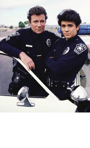 Primary image for TJ Hooker Police William Shatner MM66 Vintage 8X10 Color TV Memorabilia Photo