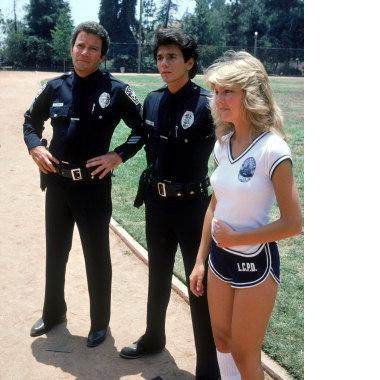 Primary image for TJ Hooker 3 William Shatner Heather Locklear 11X14 TV Memorabilia Color Photo
