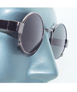 Rockin' Ozzy Small Frame Round Rock Star Sunglasses Shades Gray Metal Frame - $24.00
