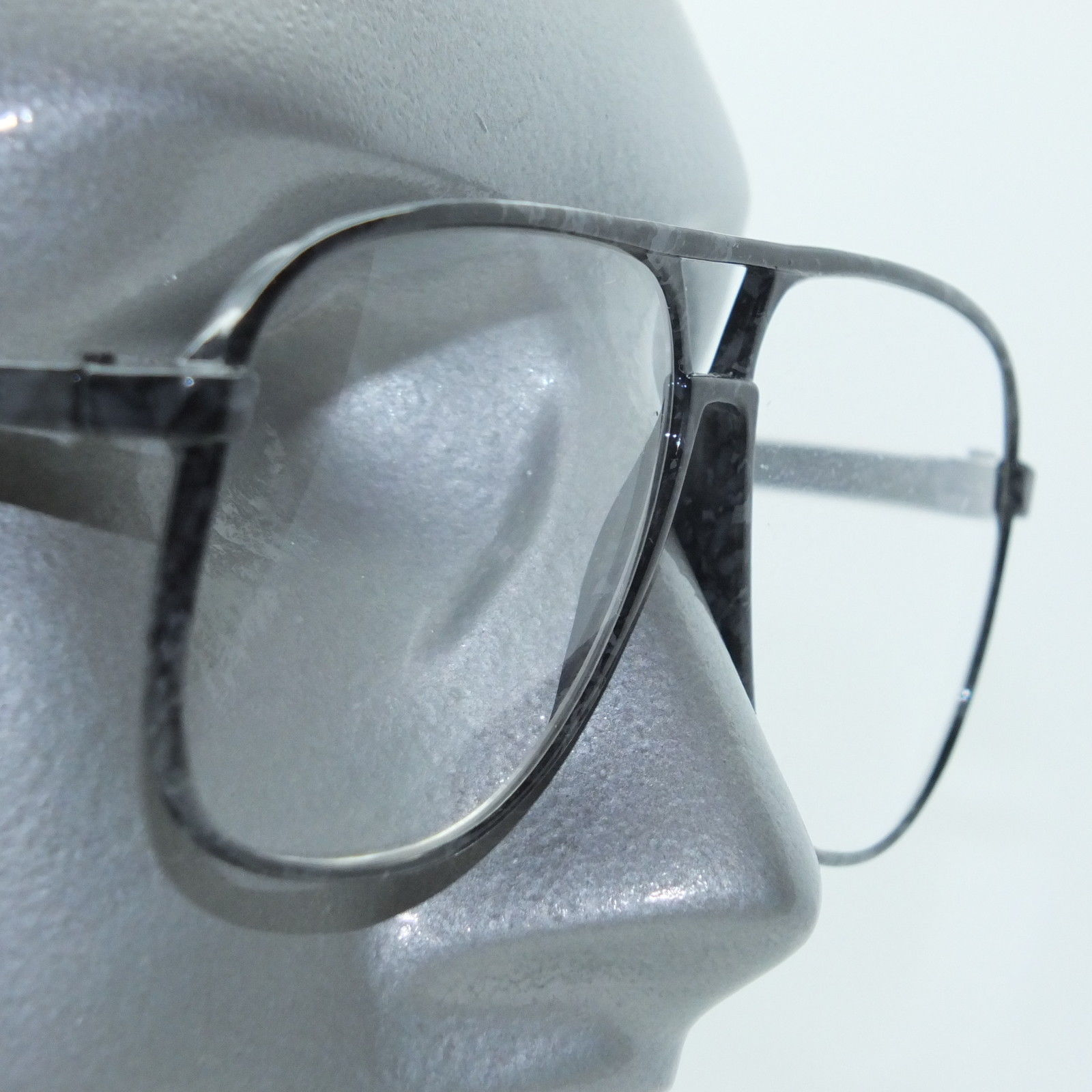 Gray Frame Reading Glasses : Classic 80s Acrylic Geek Aviator Smoke Gray Frame Reading ...