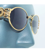 Petite Channel Ring Super Glitzy Sunglasses Sun Shades Bright Gold Frame - $19.00
