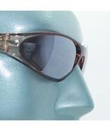 Petite Wraparound Sunglasses Close Fit Brown Frame Brown Lens Sun Shades - $19.00