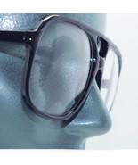 Big Frame Clear Lens Uber Geek Nerdy 80's Black Office Accessory Glasses... - $29.50