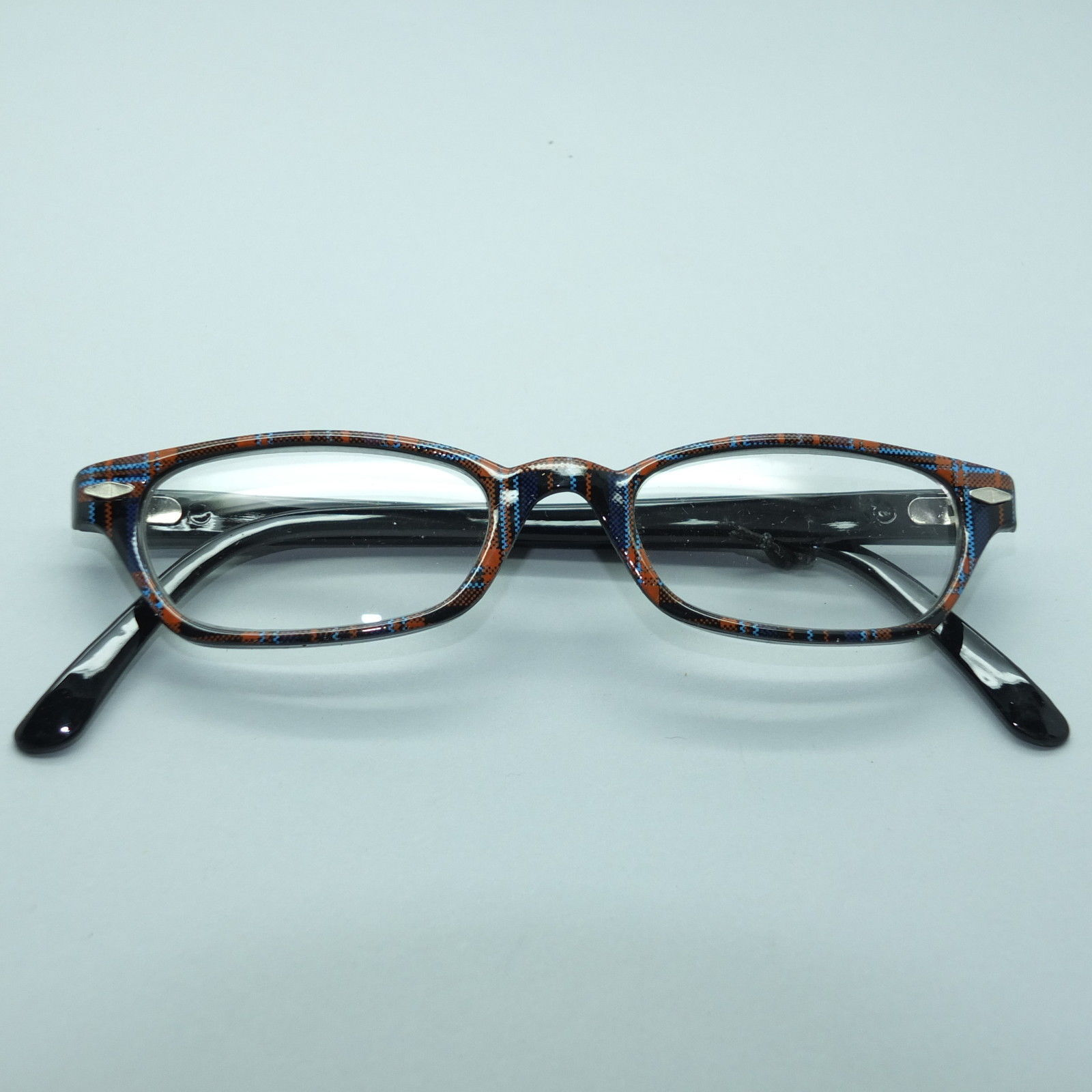 reading glasses plaid check tartan blue and 50 similar