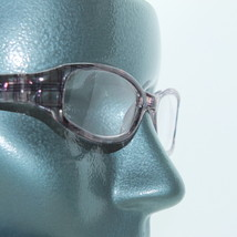 Reading Glasses Wide Arms Cool Pink Plaid Frame +1.25 Lens - $17.00