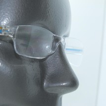Frameless Blue Clear Trim Invisible Lens Reading Glasses +2.50 Strength - $17.00